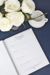 Свадебная книга для записи пожеланий Кружева