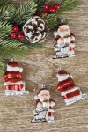 Украшение елочное Санта Клаус