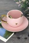 Чашка с блюдцем Кошечка