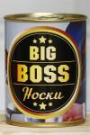 Носки в банке Big boss