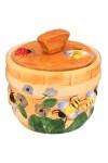 Горшочек для меда Пчелки на лугу