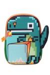 Детский пиксельный рюкзак Дракоша