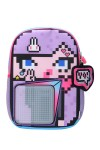 Детский пиксельный рюкзак Принцесса