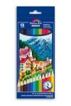 Набор цветных акварельных карандашей 12шт ГОРОД