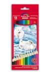 Набор цветных карандашей 12шт МЕДВЕЖАТА