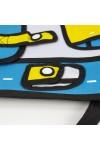 3D рюкзак голубой Мультяшный