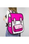 3D рюкзак розовый Мультяшный
