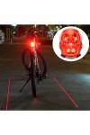 Светодиодные линии для велосипеда Череп