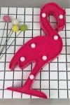 Пластиковый светильник Фламинго