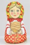 Антистрессовая игрушка-подушка Матрешка