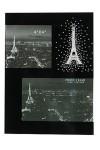 Фоторамка на 2 фото Ночной Париж