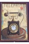 Часы коллаж Телефон