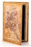 Шкатулка-фолиант Карта