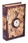 Шкатулка-фолиант с часами