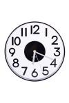 Часы насенные прозрачные