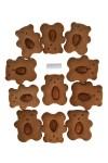 Набор пряников Мишки с орешками
