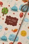 Бумага упаковочная с вашим текстом Ребенку