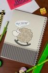 Блокнот в клетку c Вашим текстом и фото Моменты нежности