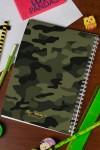 Блокнот в клетку с Вашим текстом Войска