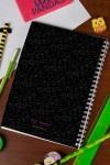 Блокнот в клетку с Вашим текстом Геометрия