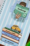 Блокнот в клетку с Вашим текстом Для ученика