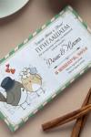 Шоколад с Вашим именем Приглашение