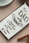Шоколад с Вашим именем Best Dad