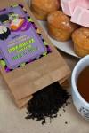 Чай черный с Вашим текстом Веселого Хэллоуина
