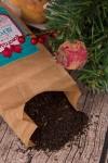 Чай черный с Вашим текстом Новогодние подарки