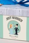 Печенье с предсказанием именное Just Married
