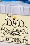 Печенье с предсказанием именное Best dad