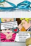 Печенье с предсказанием именное Комикс про любовь