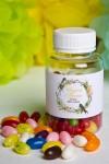 Мармелад «Цветные бобы» с Вашим именем Пасхальный венок