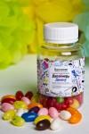 Мармелад «Цветные бобы» с Вашим именем Скетчбук