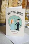 Открытка с вашим текстом Just Married