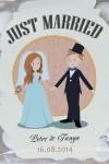 Мармелад-драже именной Just Married