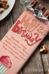 Шоколад с Вашим именем Happy Birthday!