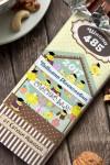 Шоколад с Вашим именем Веселый курятник