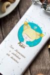 Шоколад с Вашим именем Знаки зодиака (блондинка)