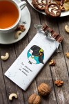 Шоколад с Вашим именем Знаки зодиака (брюнетка)