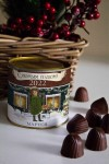 Банка шоколадных конфет с Вашим именем Рождество