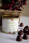 Банка шоколадных конфет с Вашим именем Букет