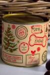 Банка шоколадных конфет с Вашим именем Новогодние штампы