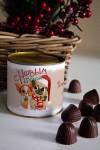 Банка шоколадных конфет с Вашим именем Парочка