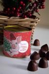 Банка шоколадных конфет с Вашим именем Милая хрюшка