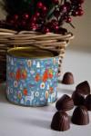Банка шоколадных конфет с Вашим именем Сказочный лес