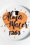 Магнит с Вашим текстом Alma mater