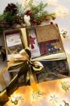 Сладкий подарочный набор с Вашим текстом С Новым годом и Рождеством!