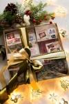 Сладкий подарочный набор с Вашим текстом Новогоднее письмо