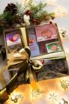 Сладкий подарочный набор с Вашим текстом Новогодние хрюшки